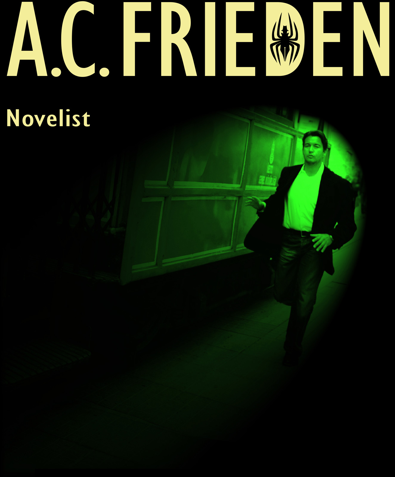 A.C. Frieden - Novelist - CLIGK to ENTER