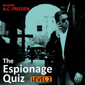 The Espionage Quiz Level 2