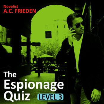 The Espionage Quiz Level 3